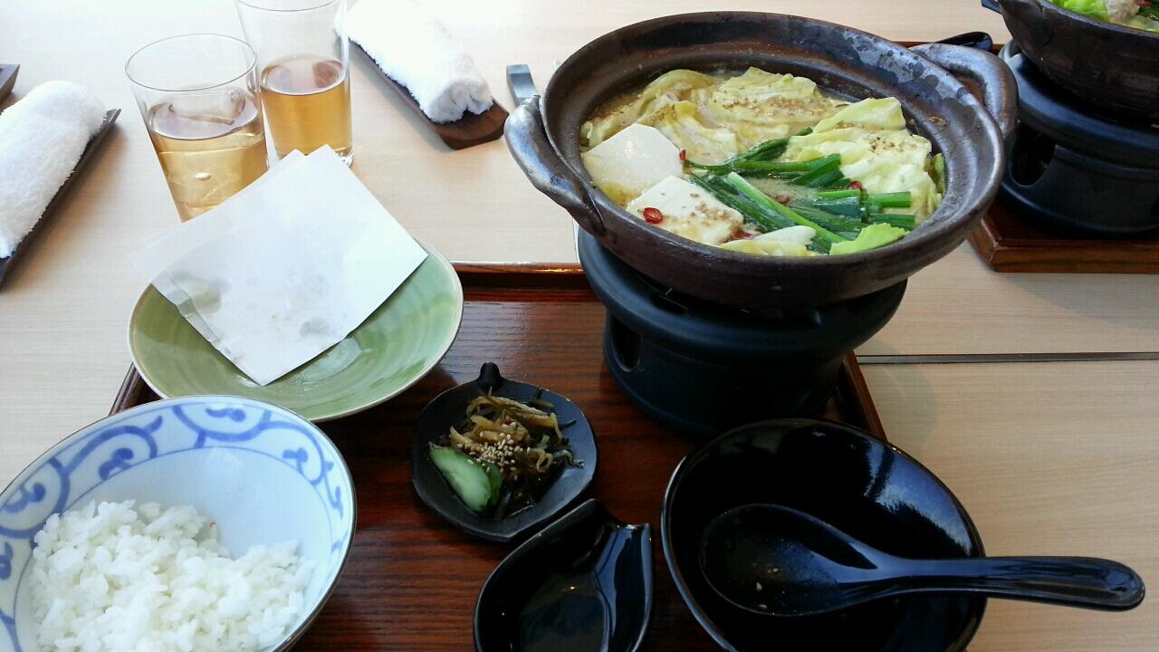 モツ鍋コース2